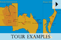 Exclusive Australia Adventure Tours - Karte